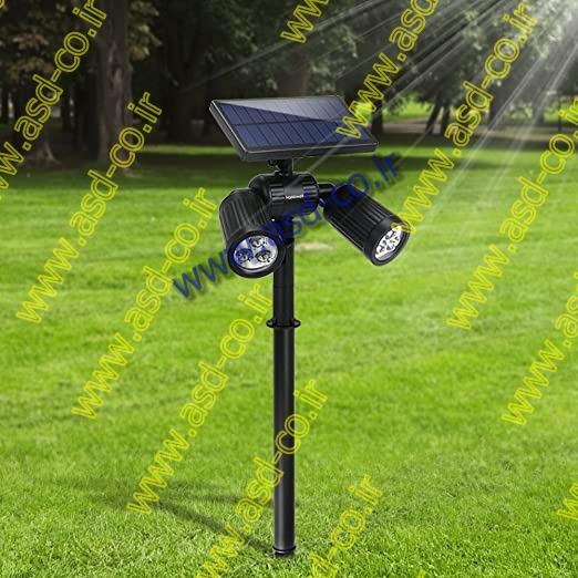 شدت نور بالا، قابلیت تعویض باتری توسط خریدار، بدنه مقاوم از جنس ABS و PC، ضد آب بودن و کارکرد 8 ساعت در طول شب از جمله ویژگی های پایه چراغ روشنایی سولار می باشد.