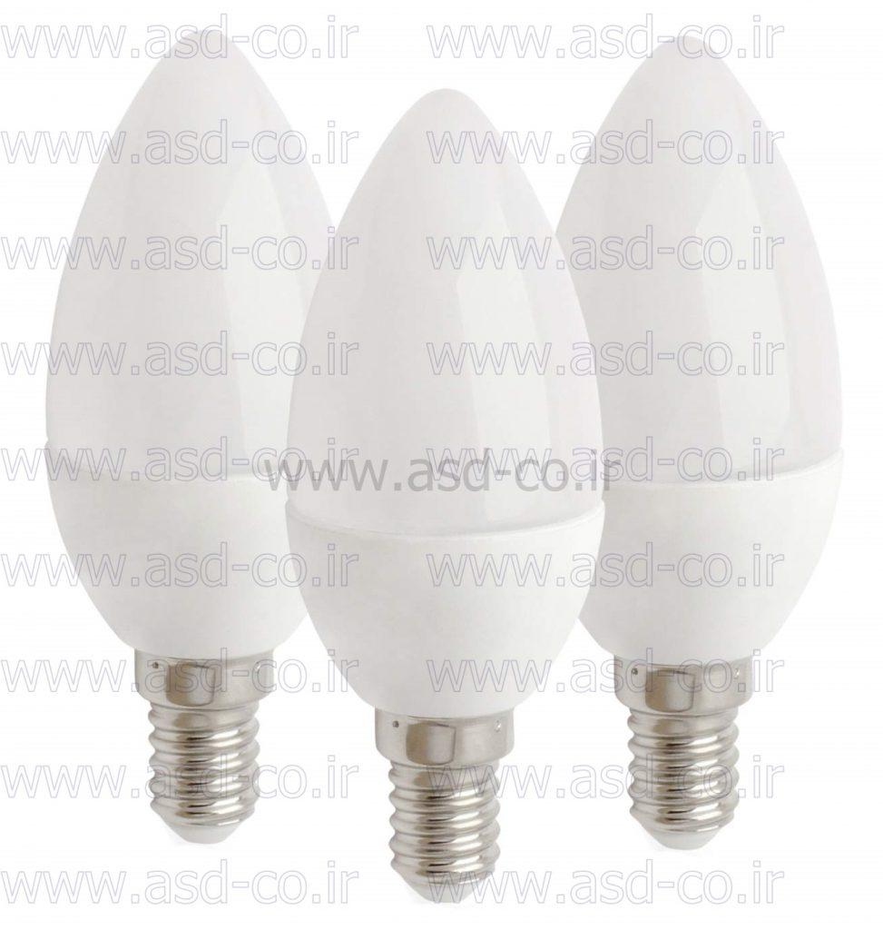 قیمت ارزان و قدرت کلیدزنی بالا از جمله مزایای لامپ ال ای دی 5 وات شمعی است که از نظر بهداشت و سلامتی هم برای چشم مضر نمی باشد.