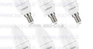 لامپ ال ای دی 5 وات شمعی