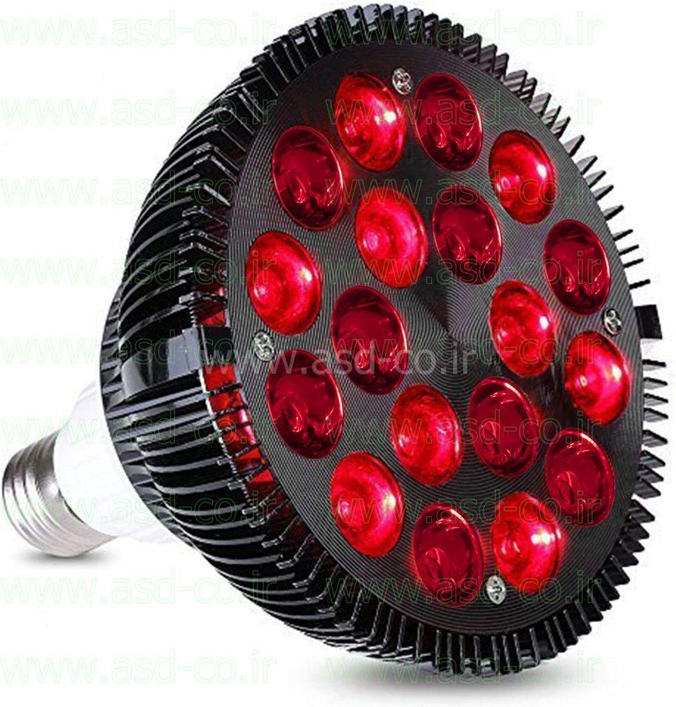 لامپ ال ای دی قرمز رنگ و یا مدل های ال ای دی RGB را می توان با ریموت کنترل برای نورپردازی استفاده کرد.