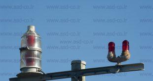 قیمت چراغ دکل چشمک زن خورشیدی