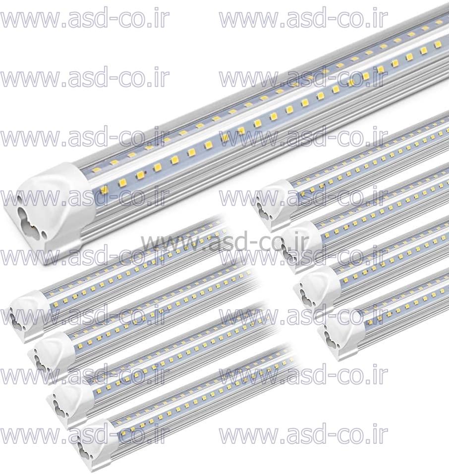 نصب لامپ ال ای دی مهتابی T8 راحت بوده و زاویه پخش آن 120 درجه می باشد. رده انرژی لامپ های ال ای دی مهتابی جایگزین مهتابی A+ می باشد که باعث کاهش چشمگیر مصرف برق می شود.