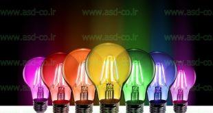 لامپ ال ای دی 1 وات رنگی