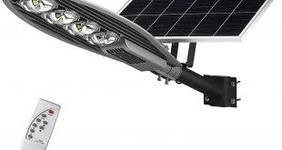 چراغ های خورشیدی خیابانی