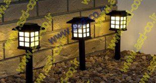 چراغ خورشیدی 64 سانتی متری با 4 پنل سولار