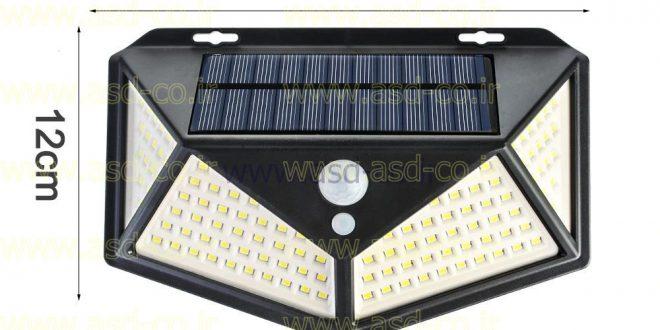 چراغ خورشیدی محوطه